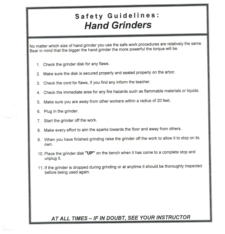 Bench Grinder Safety Scale Part - 39: Safety Hand Grinders.jpg (2550×2657)
