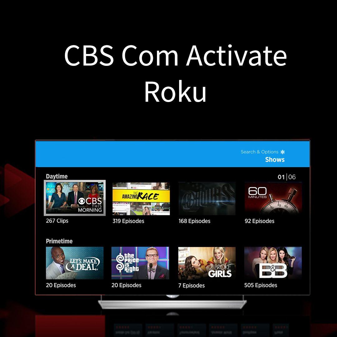 Roku CBS Channel Activation Roku