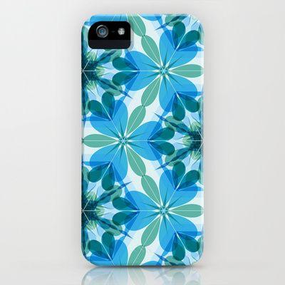 Kaleidoscopic Lagoon iPhone Case by patterndesign - $35.00