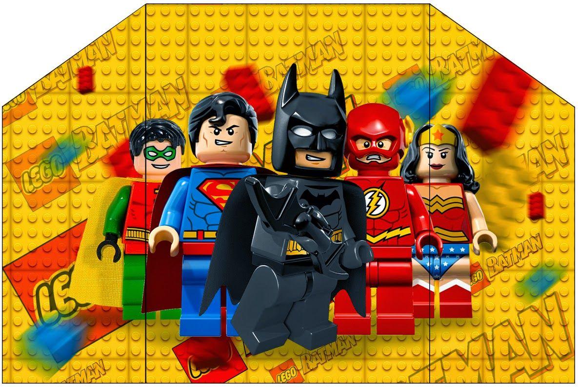 De Todo Para El Cumple Lego Superheroes Printables En Buena