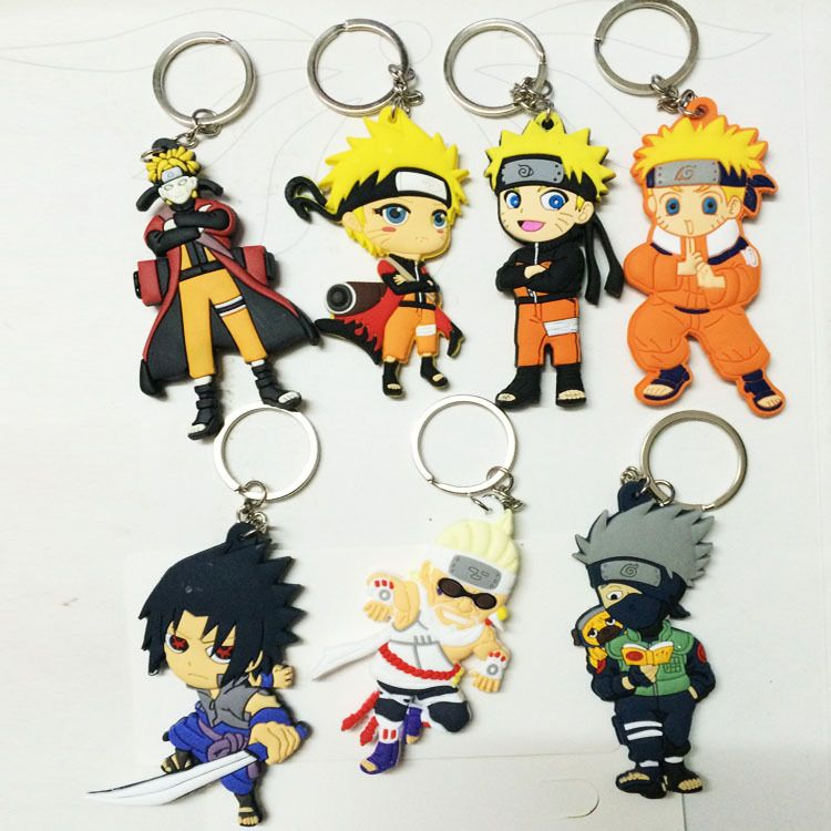 Buy naruto action figure keychain with images action