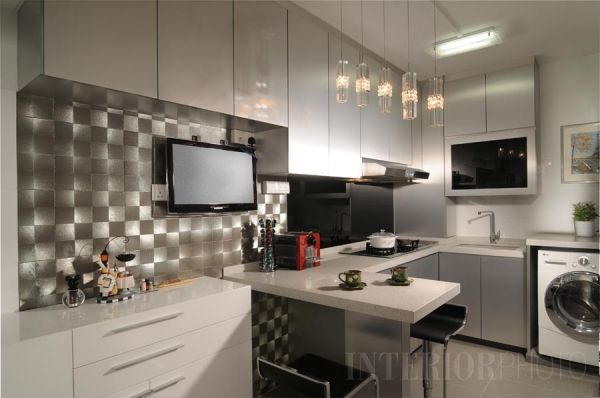 Captivating Modern Kitchen In Small HDB Flats Today