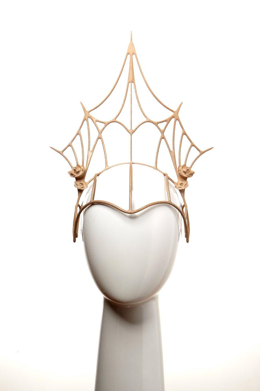 Kova Golden Crown | Headdress Frames | Pinterest | Golden crown ...