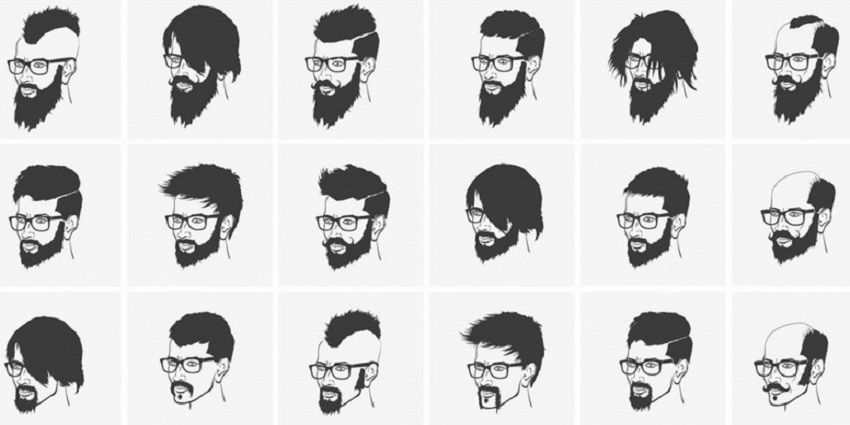 Men Haircut Length Chart Hairstyles Ideas Pinterest Mens