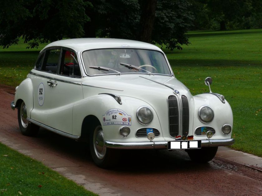 1952–1958 BMW 502 V8 3,2 L | BMW | Pinterest | BMW and Cars