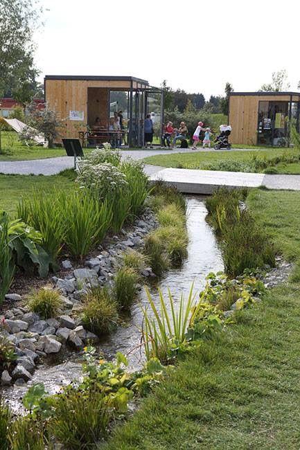 Pin de SEED Landscape Design en Water Pinterest Parque, Parque - paisaje jardin