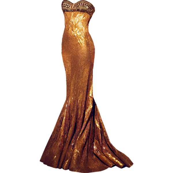 I'm generally not fond of gold, but this I really like. :) Satinee's collection - Nicolas Jebran found on Polyvore