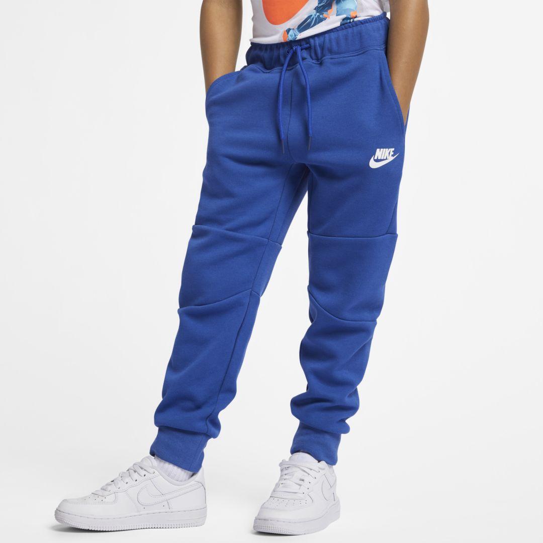 e3448db91 Nike Tech Fleece Little Kids' Pants Size 4 (Indigo Force) in 2019 ...
