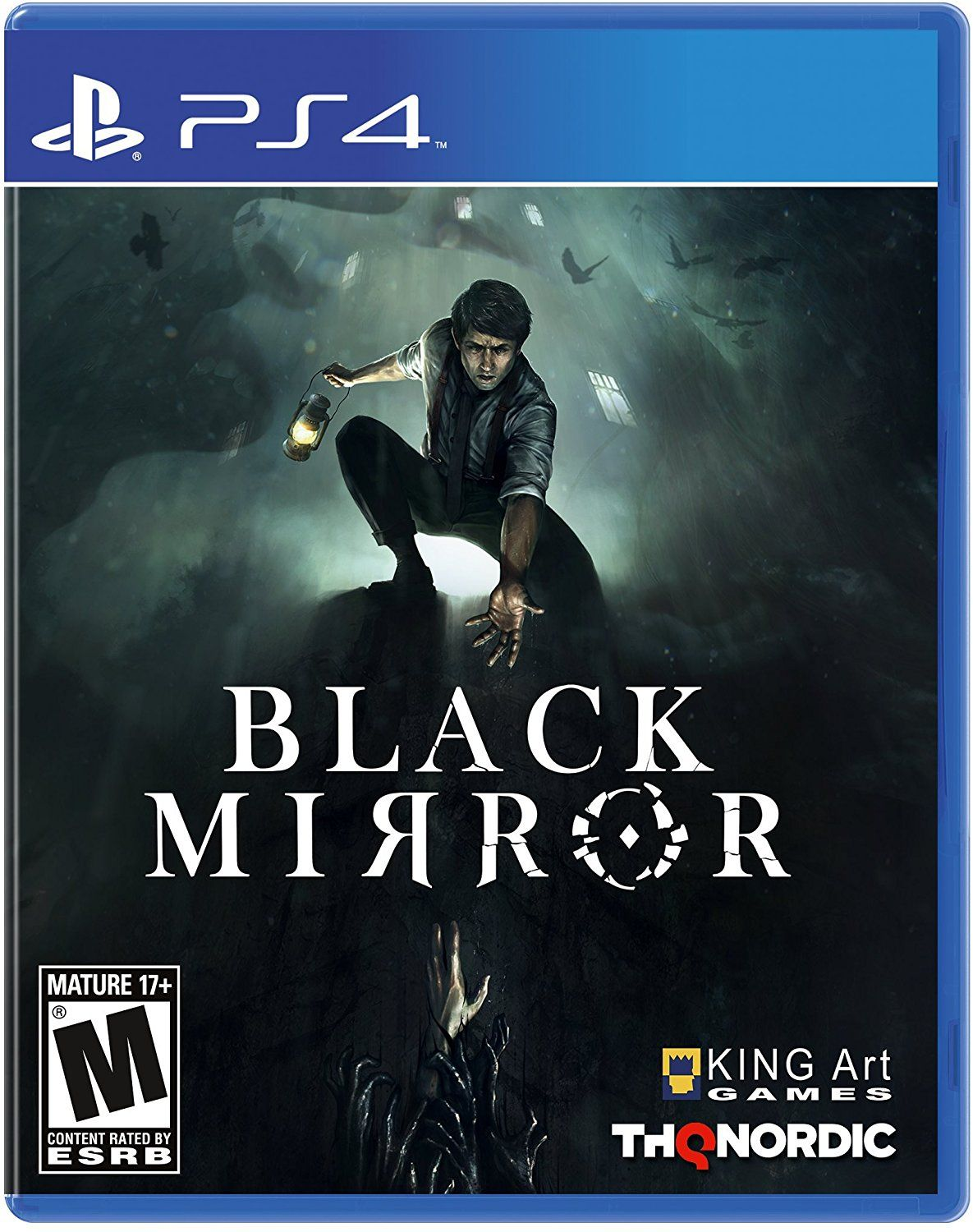 Mature 17 Content Rated By Esrb Roblox Black Mirror Game Cover Ps4 Black Mirror Mirror Game Playstation 4