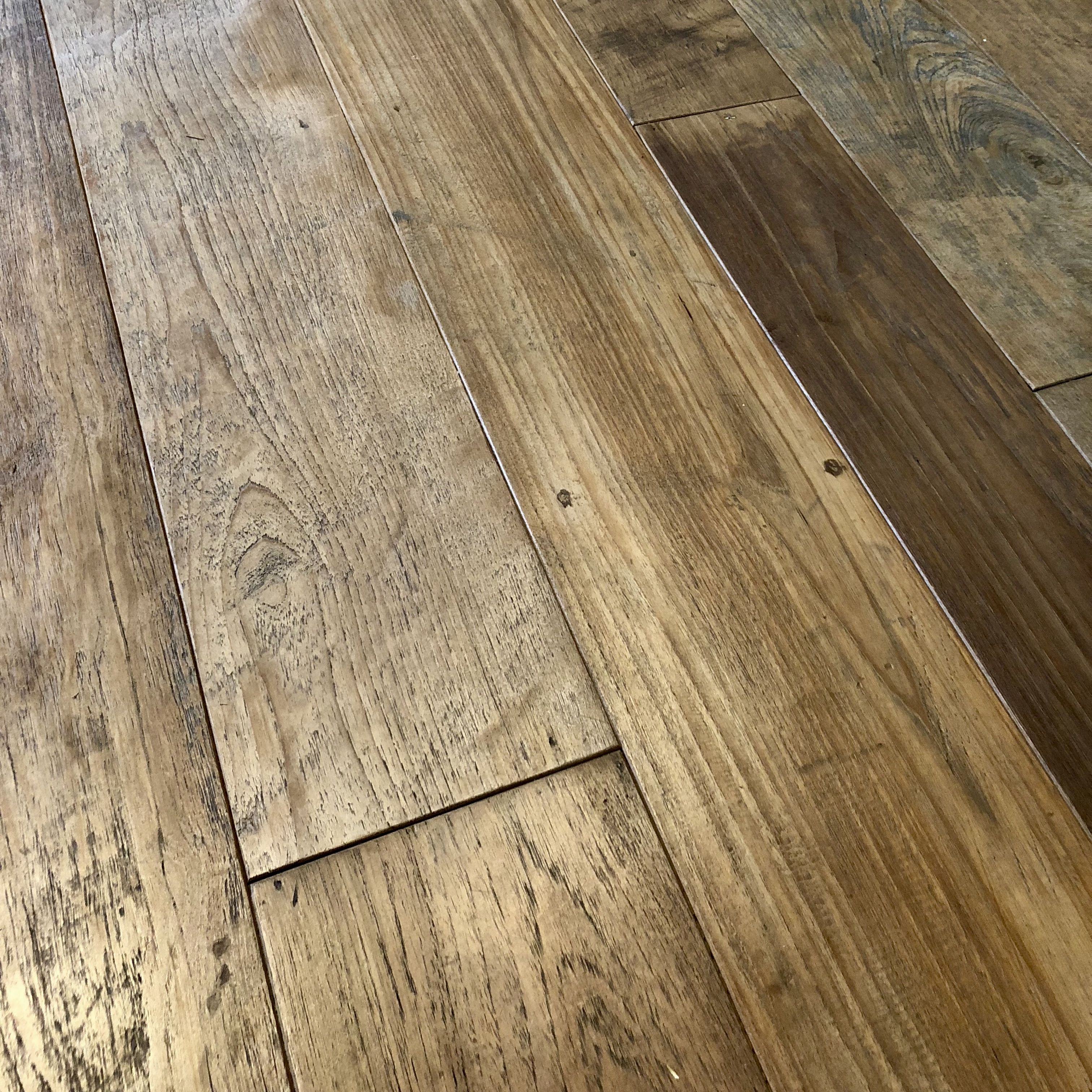 Reclaimed Teak Planking And Flooring