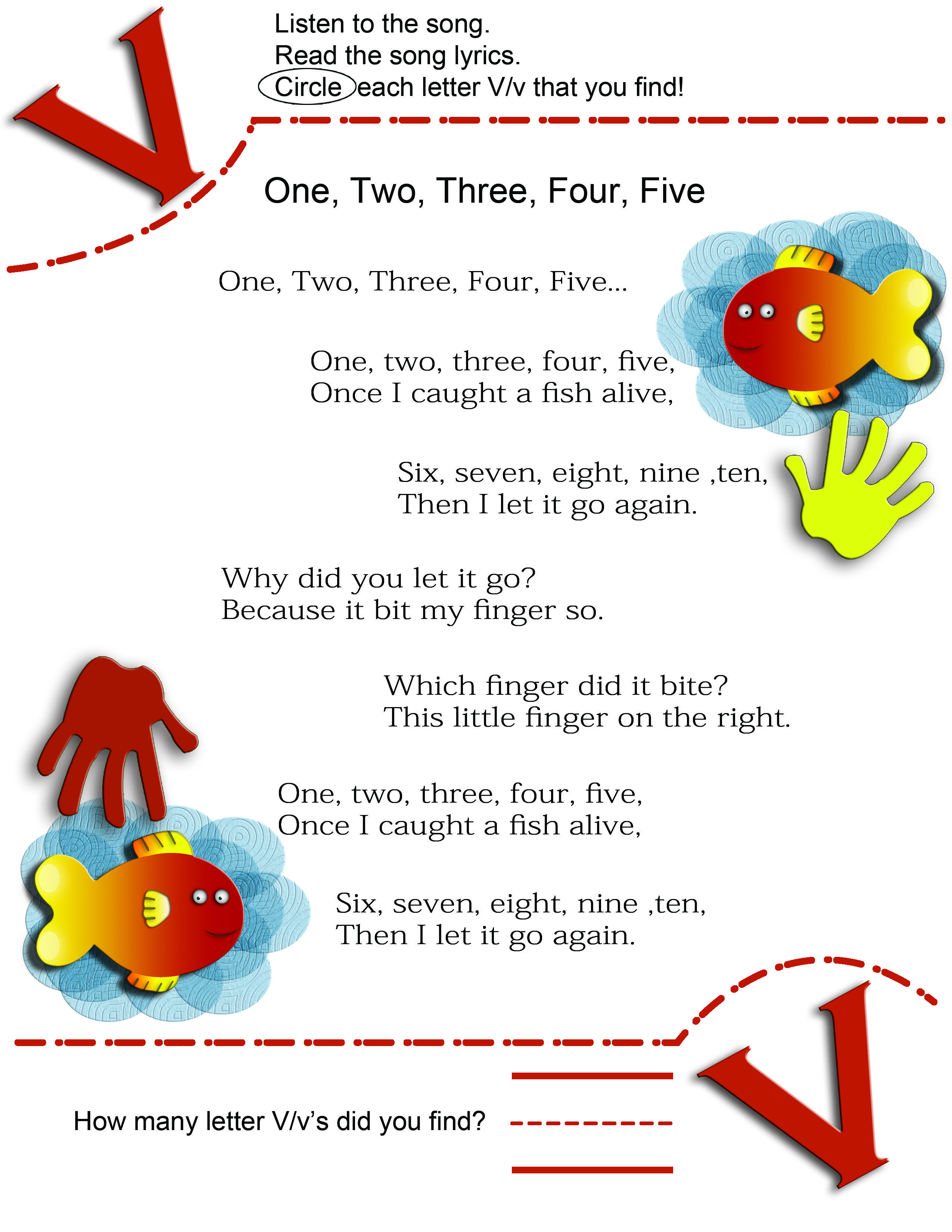 Worksheet Kindergarten Rhymes pinterest the worlds catalog of ideas alphabet letter v learning letters in familiar nursery rhymes