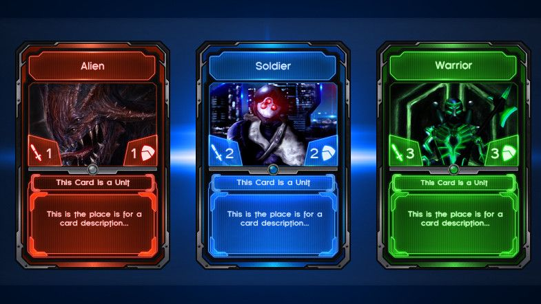 Sci-Fi Card Template Trading cards Pinterest Card templates - trading card template
