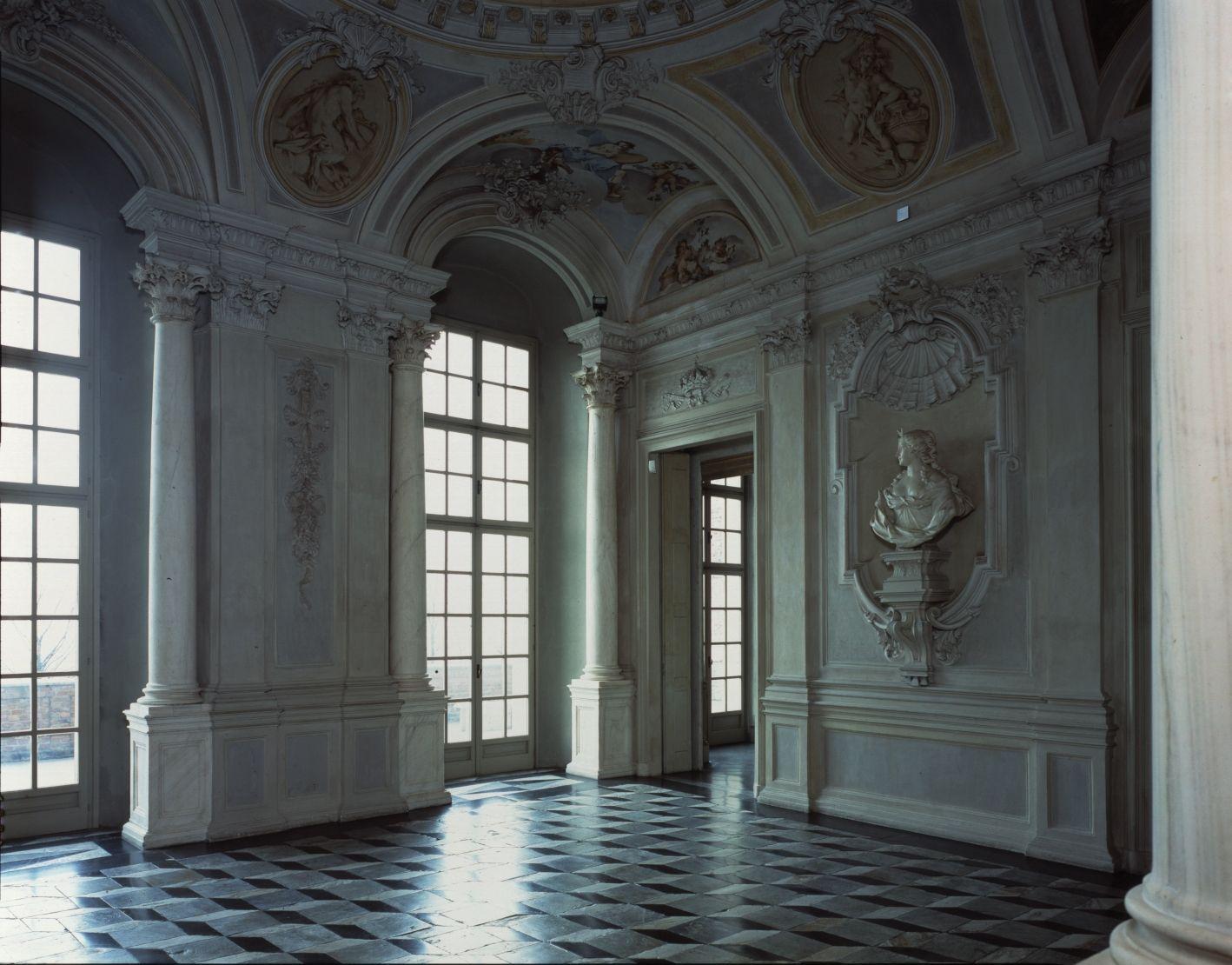 Atrio O Sala Di Bacco E Arianna En El Castillo Di Rivoli Provincia De Turin Piamonte Italia Castle Architecture Italy