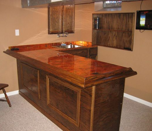 Flamed Copper Bar Top Bar Ideas Pinterest Copper Bar Top