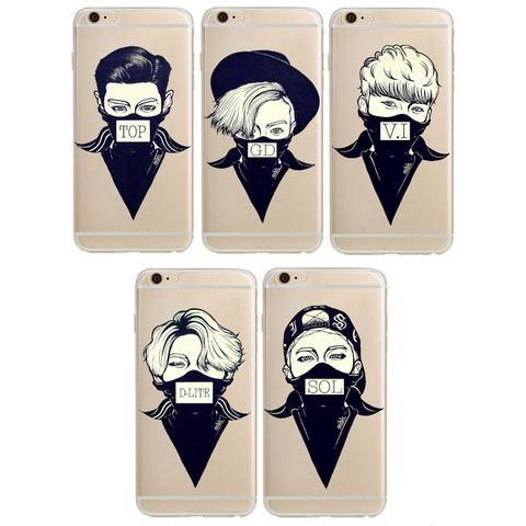 save off 84463 db81f Phone Cases - IPhone 6S Case Bigbang K-pop Star Soft TPU Cover Case ...