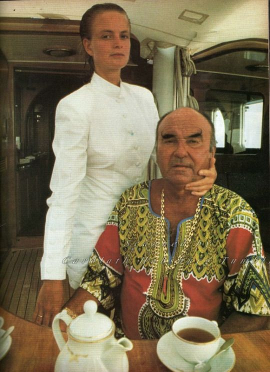 Johannes Von Thurn Und Taxis And Spouse Gloria Known As Princess Tnt Late 80s Koninginnen Duitsland