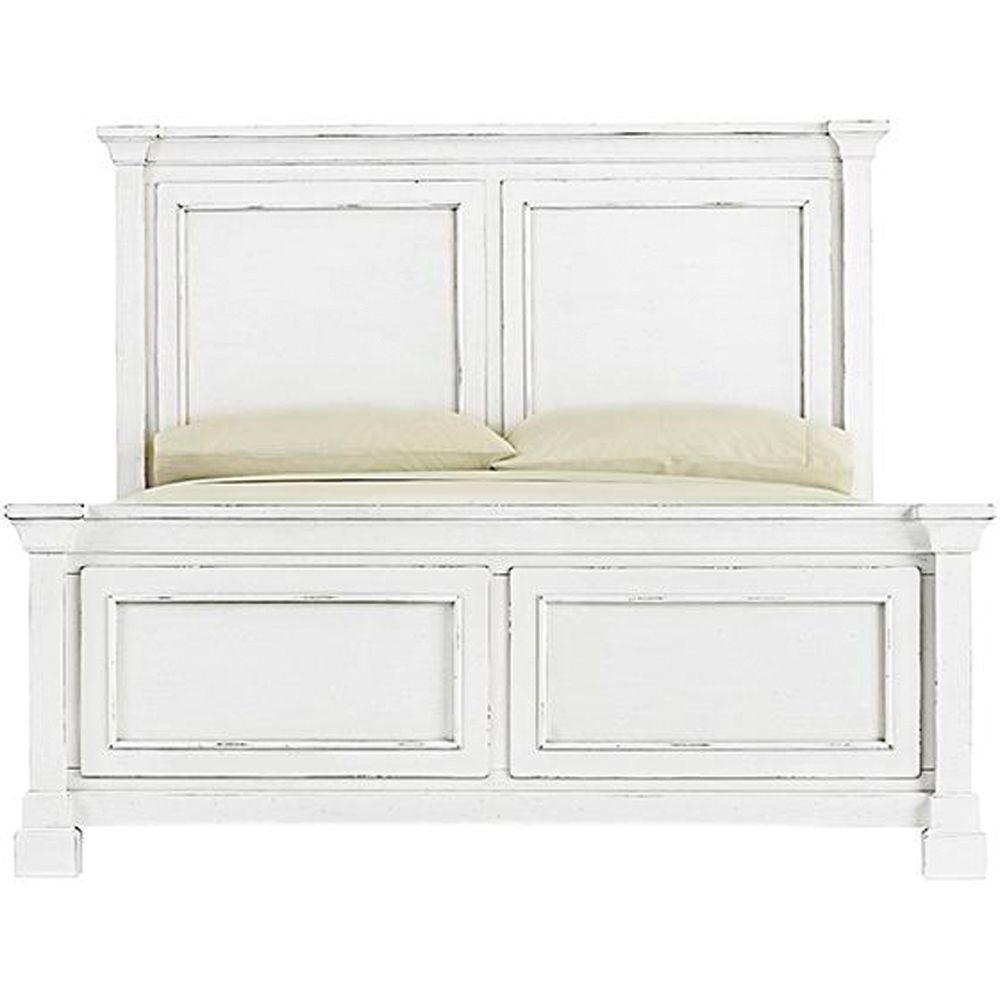 Bridgeport Antique White Queen Bed Frame 1872500460 White Queen Bed White Queen Bed Frame White Panel Beds