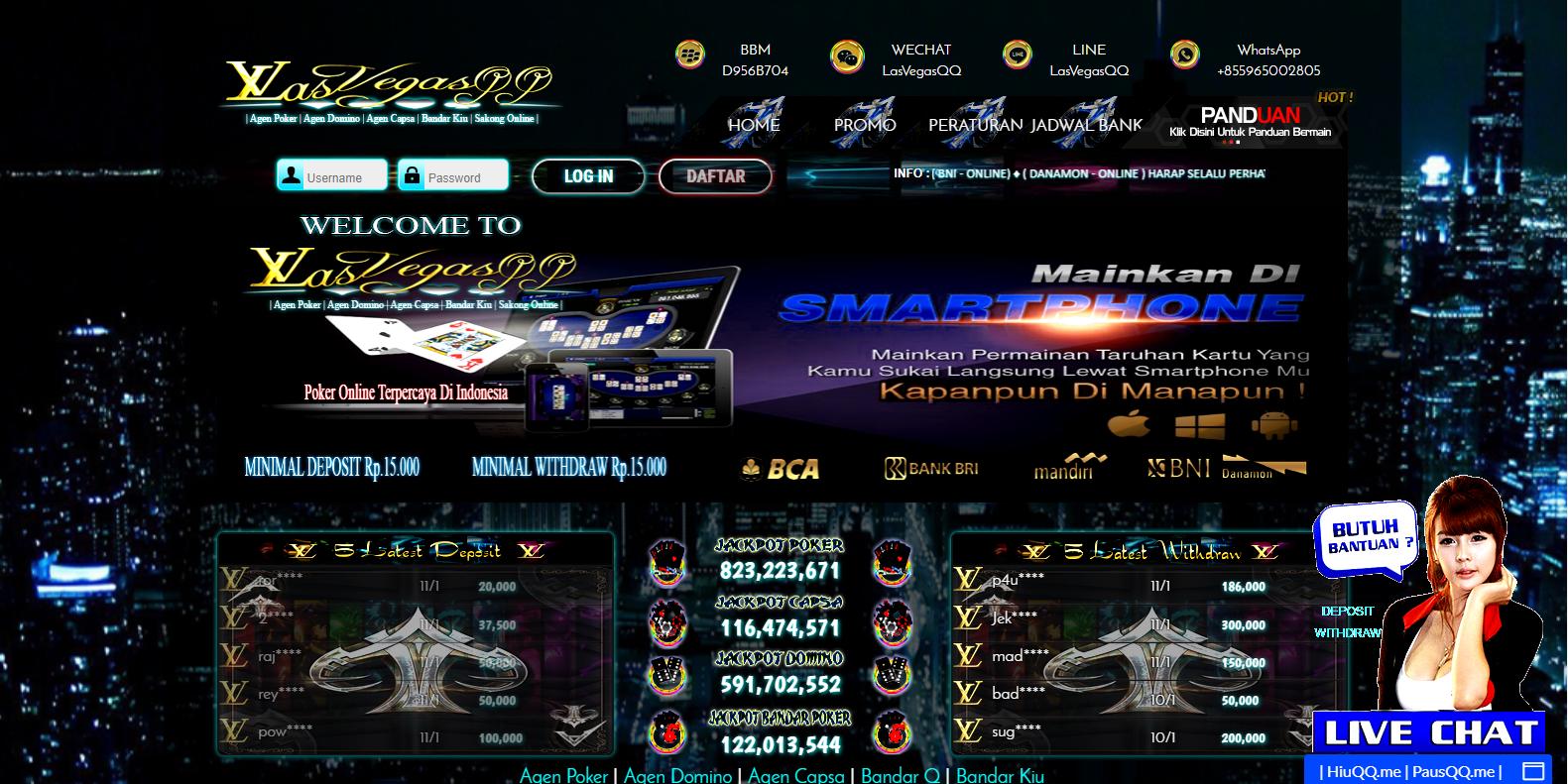 Main Pkv Games Poker Domino BandarQ Apk Online di ...