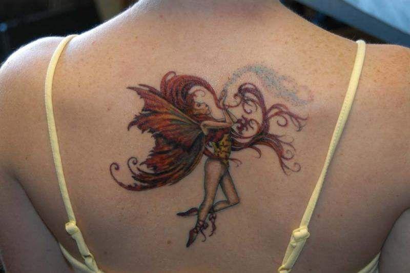 tatouage fée celtique | Modèles de tatouage de fée, Tatouage cou, Tatouage