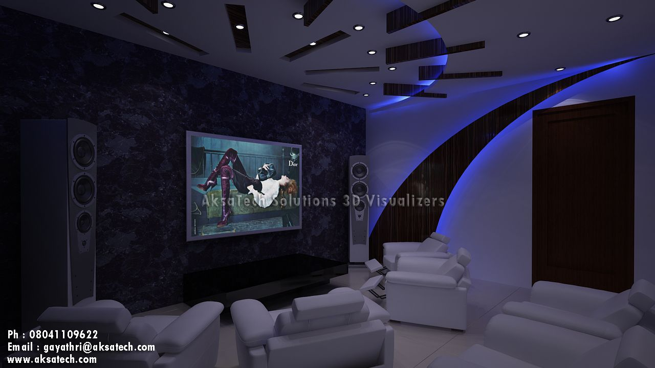 design large home theater room house style living space ideas home - Home Theater Room Design Ideas