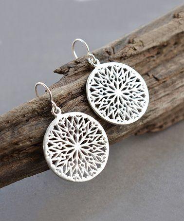 Love this Sterling Silver Snowflake Drop Earrings on # ...