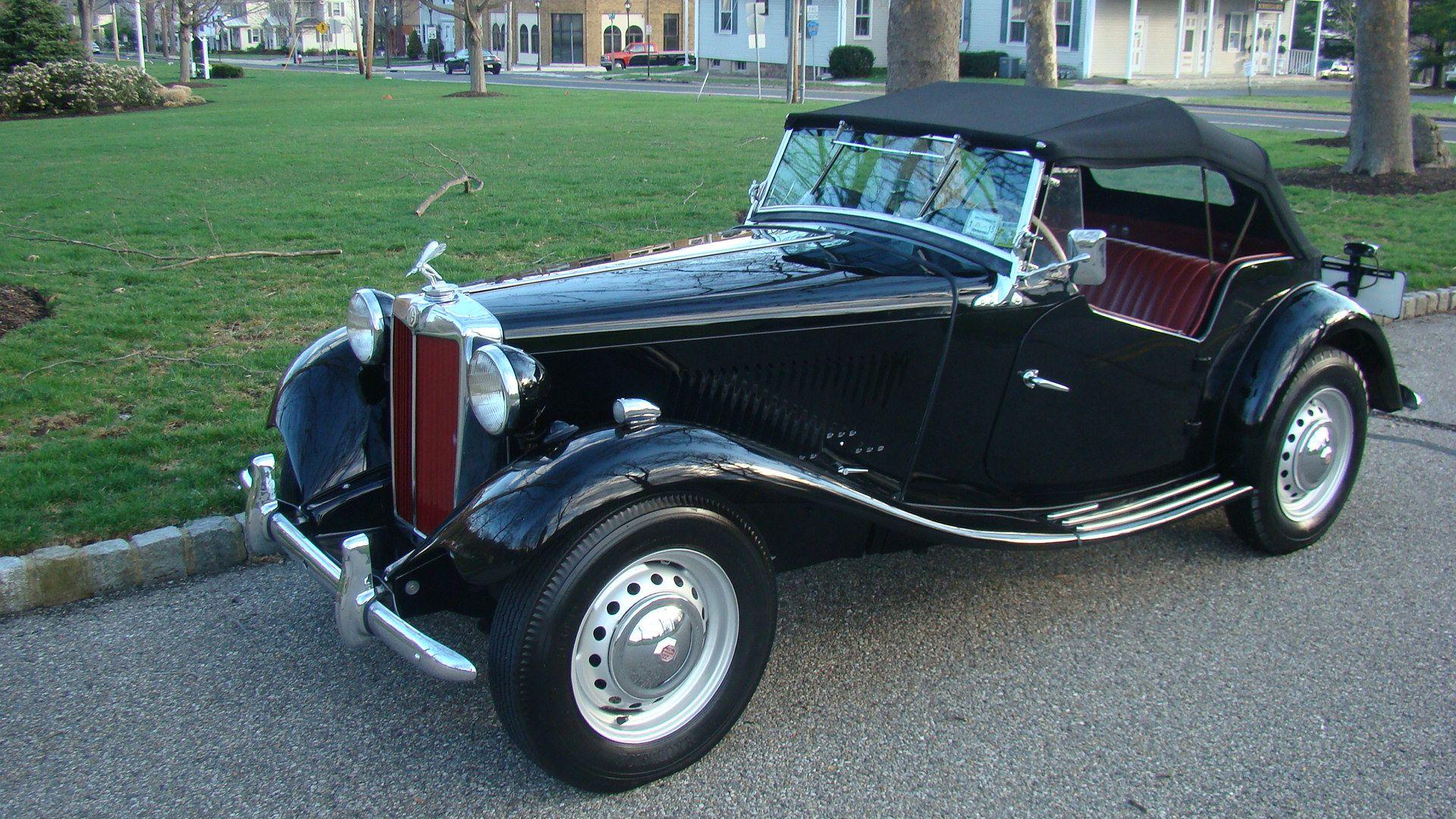 1950 MG TD | Automobiles | Pinterest | Cars, Dream machine and Wheels