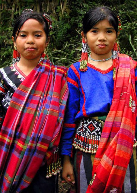 Children wearing traditional T'boli Garb, Mindanao ...