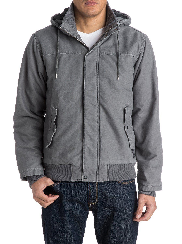 Quiksilver mens jacket - Brooks Parka Jacket Eqyjk03103 Quiksilver