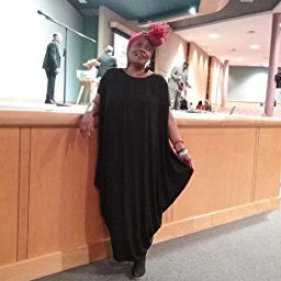 68d22e46419 Verdusa Women s Boho One Off Shoulder Caftan Sleeve Harem Maxi Dress Olive  Green XS
