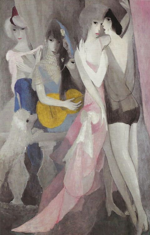 Marie Laurencin The Dance 1921 Art Gallery Art Painting