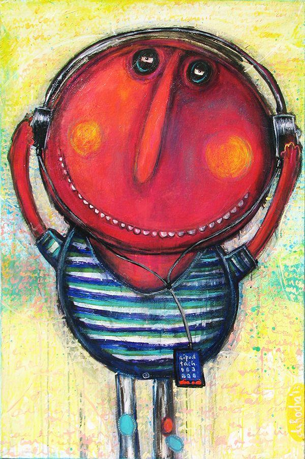 Wake Up Clodomiro Arte Pintura Pinturas Arte