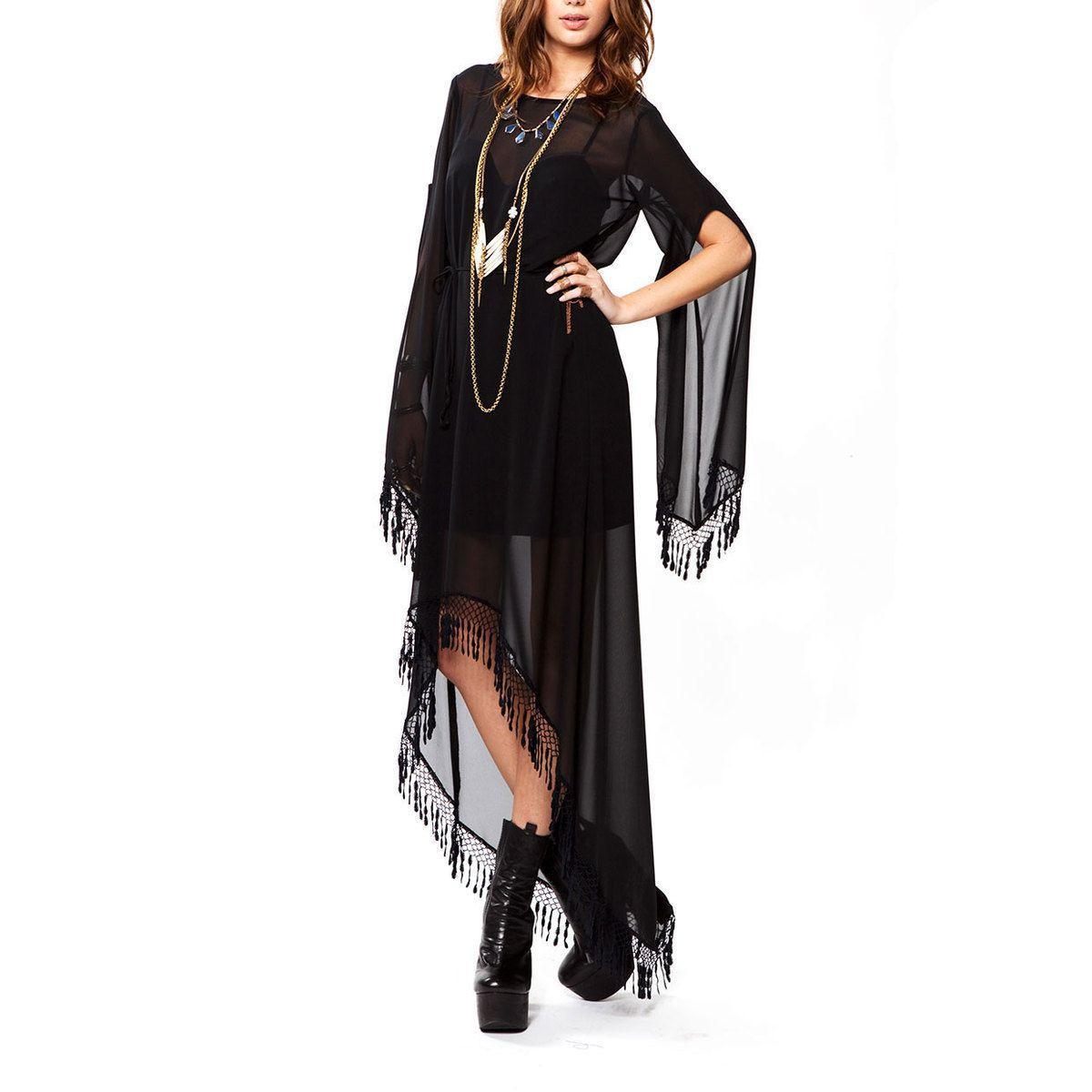 Stevie Nicks Love 11 Fab Com Wild Horses Dress Black Horse Dress Fashion Dresses [ 1200 x 1200 Pixel ]