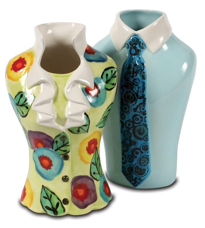 Shirt  Tile vase a