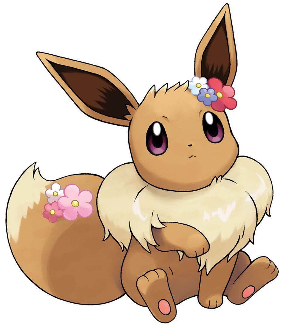 Eevee Accessories Artwork From Pokemon Let S Go Pikachu Let S