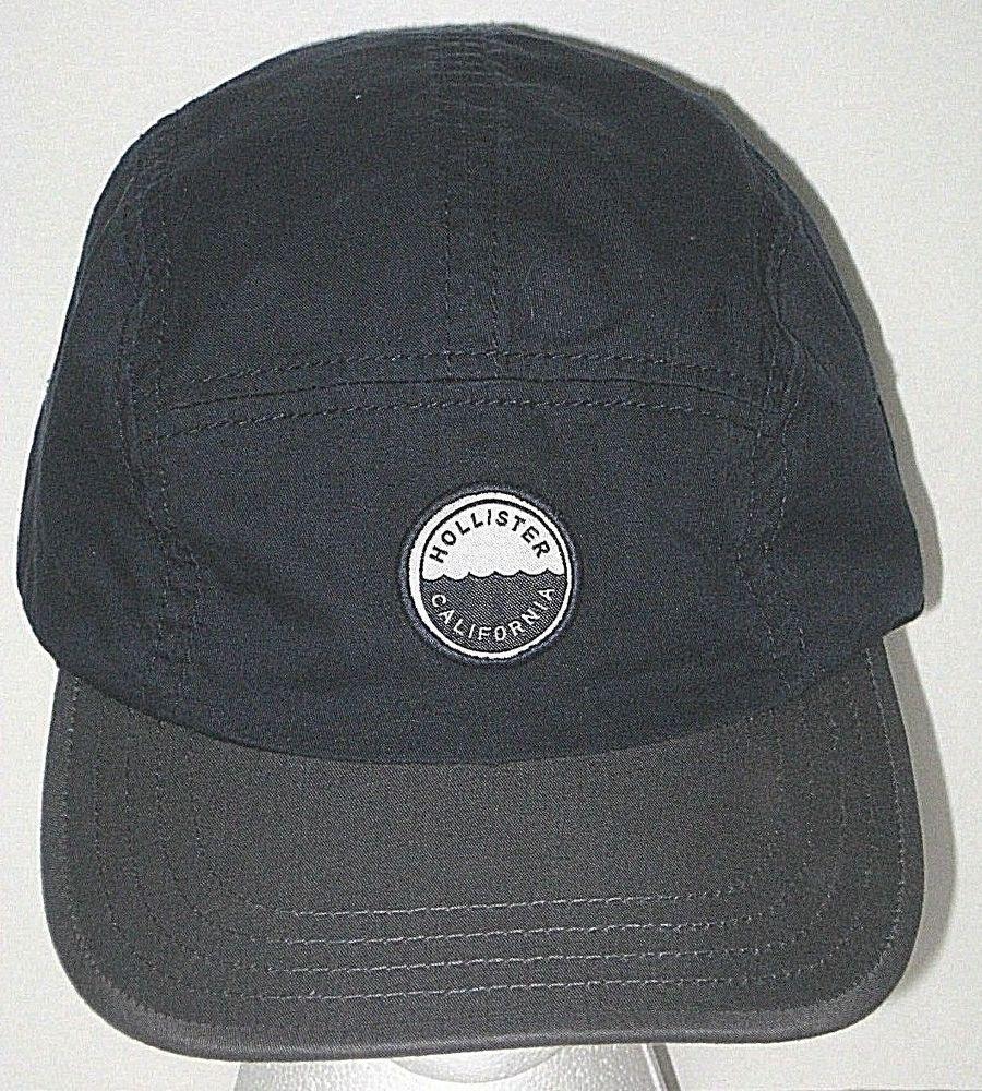 Hollister California Baseball Hat Cap Navy Blue Gray Bill One Size  Adjustable  HollisterCalifornia  BaseballCap ec5de2dacfb