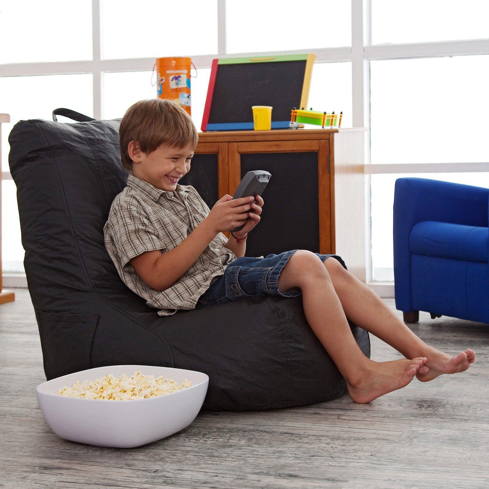 Vinyl Video Bean Bag Chair   Itu0027s Comfortable, Itu0027s Mobile, And Best Of  All, Itu0027s Super Durable! This Vinyl Video Bean Bag Chair Has A Great Angle  Built In.