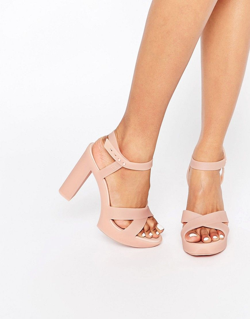 c2f39a34326d Image 1 of Melissa Classic Lady Heeled Sandals