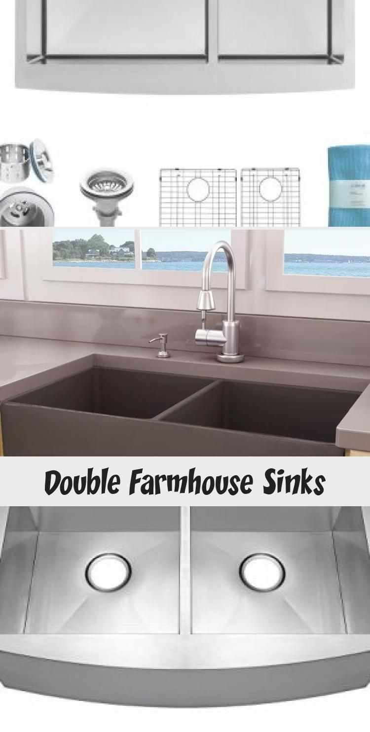 Best Double Farmhouse Sinks Find The Top Rated Double Apron Front