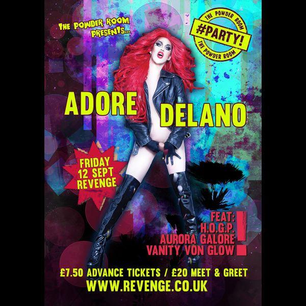 Buy Adore Delano tickets, Adore Delano tour details, Adore Delano reviews | Ticketline  http://www.ticketline.co.uk/adore-delano#bio