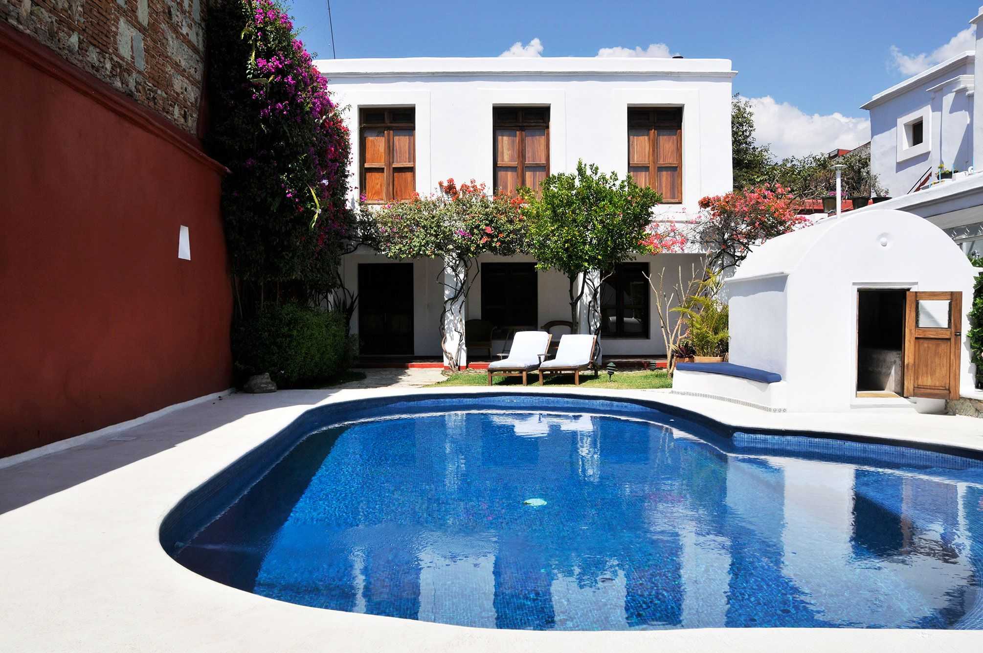 Casa Oaxaca Boutique Hotel Discover The Extraordinary Pool