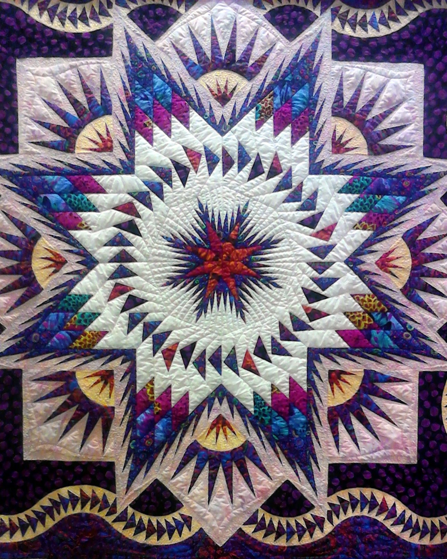 It's Fair Time | Star quilts, Paper piecing and Longarm quilting : quilts handmade - Adamdwight.com