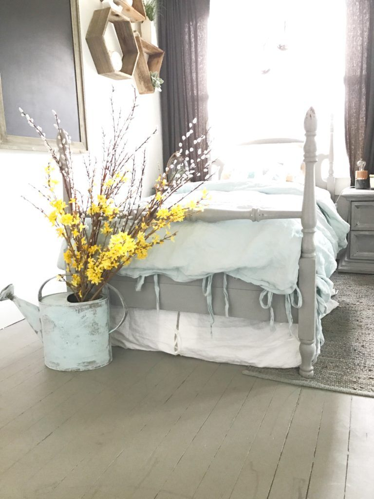 How I Chalk Painted Wood Floors Hallstrom Home Painted Wooden