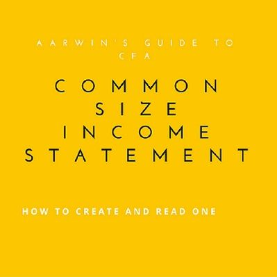 Common size income statements make comparison of financial - profit and lost statement
