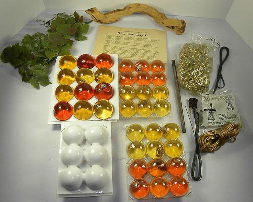 Hannah S 1960s Grape Cluster Swag Light Kit A Peek Inside Her