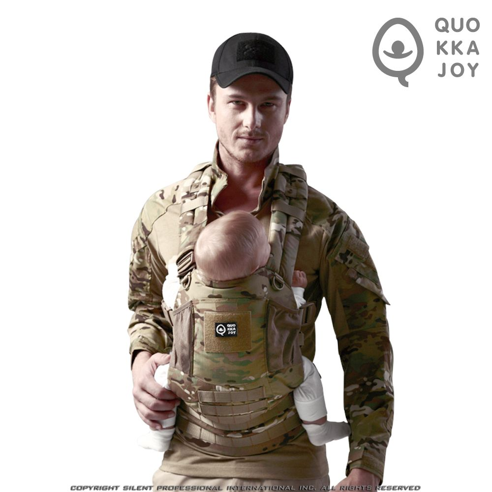 Quopro Limited Edition Baby Carrier Multicam No J