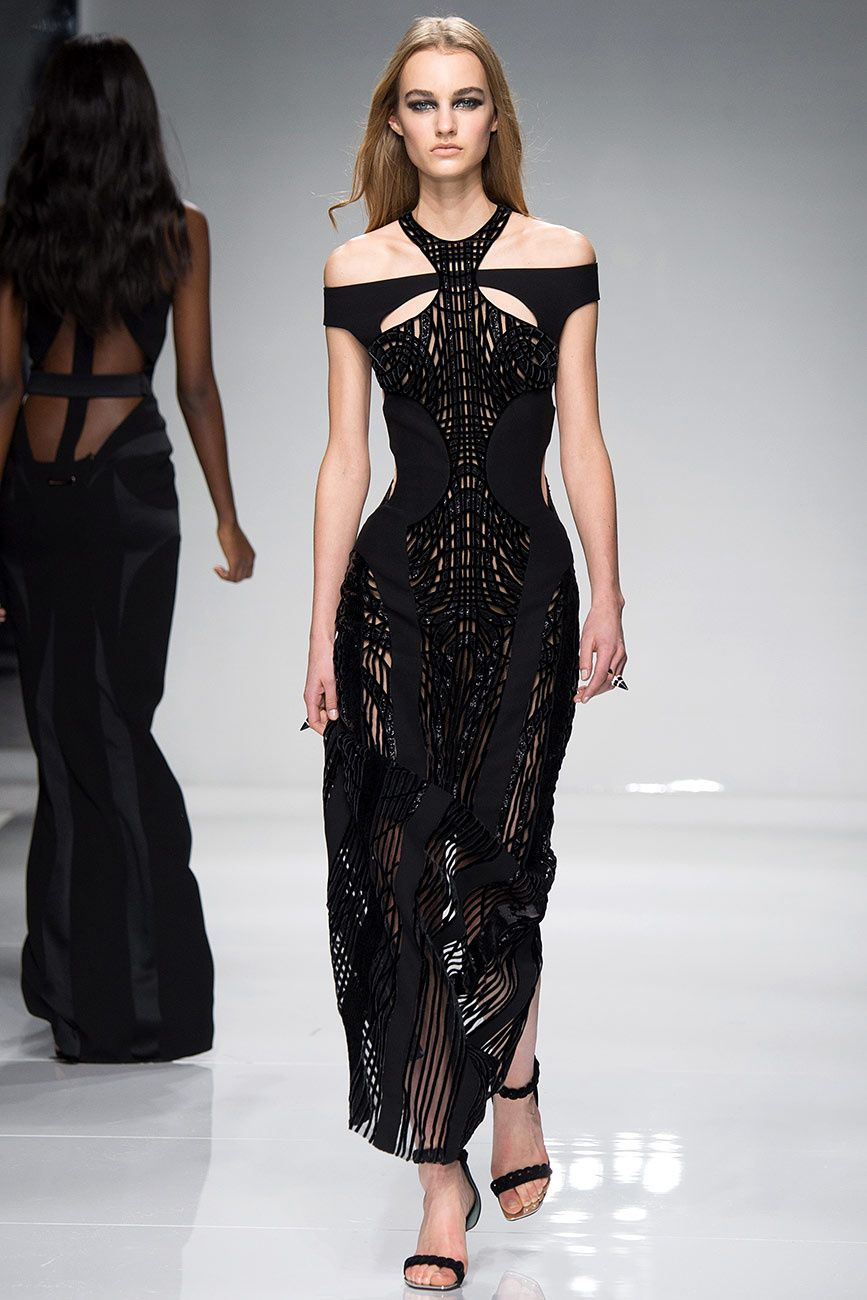 Atelier Versace - Alta Costura - Spring/Summer 2016 - www.so-sophisticated.com