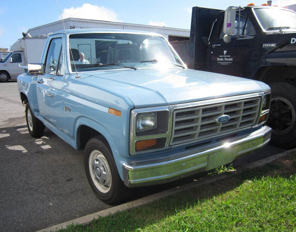 Ford F100 Stepside Blue Oval 80 86 Pinterest 1980 Bronco Cruise Control Short Step Side 1982 F 150 In Durham