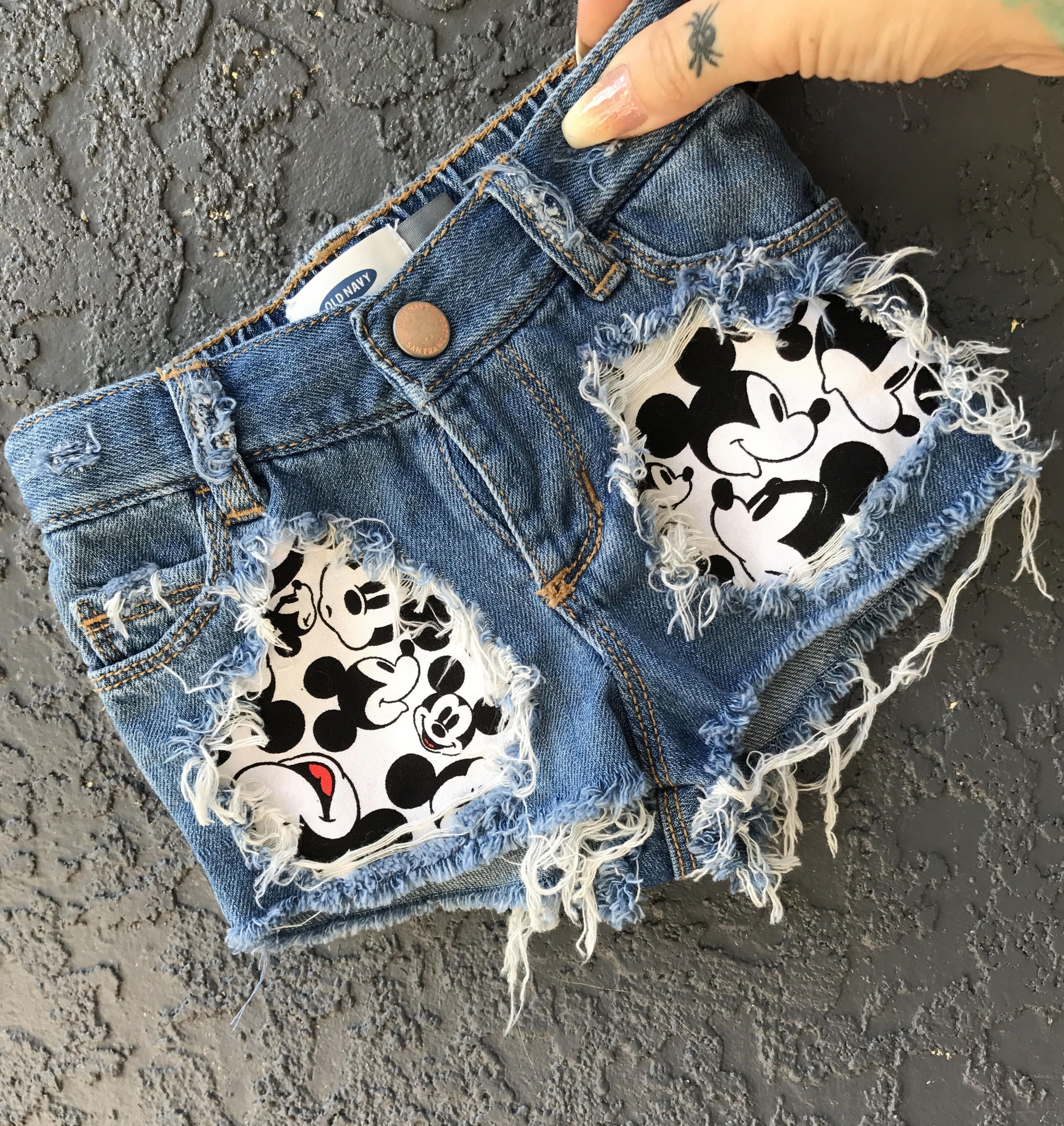 Baby and Toddler distressed shorts