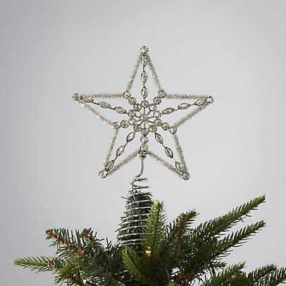 Vintage Jewel Star Tree Topper The White Company Things I want