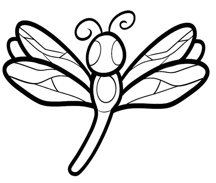 Dragonfly Coloring Pages For Adult Kids Coloring Pages